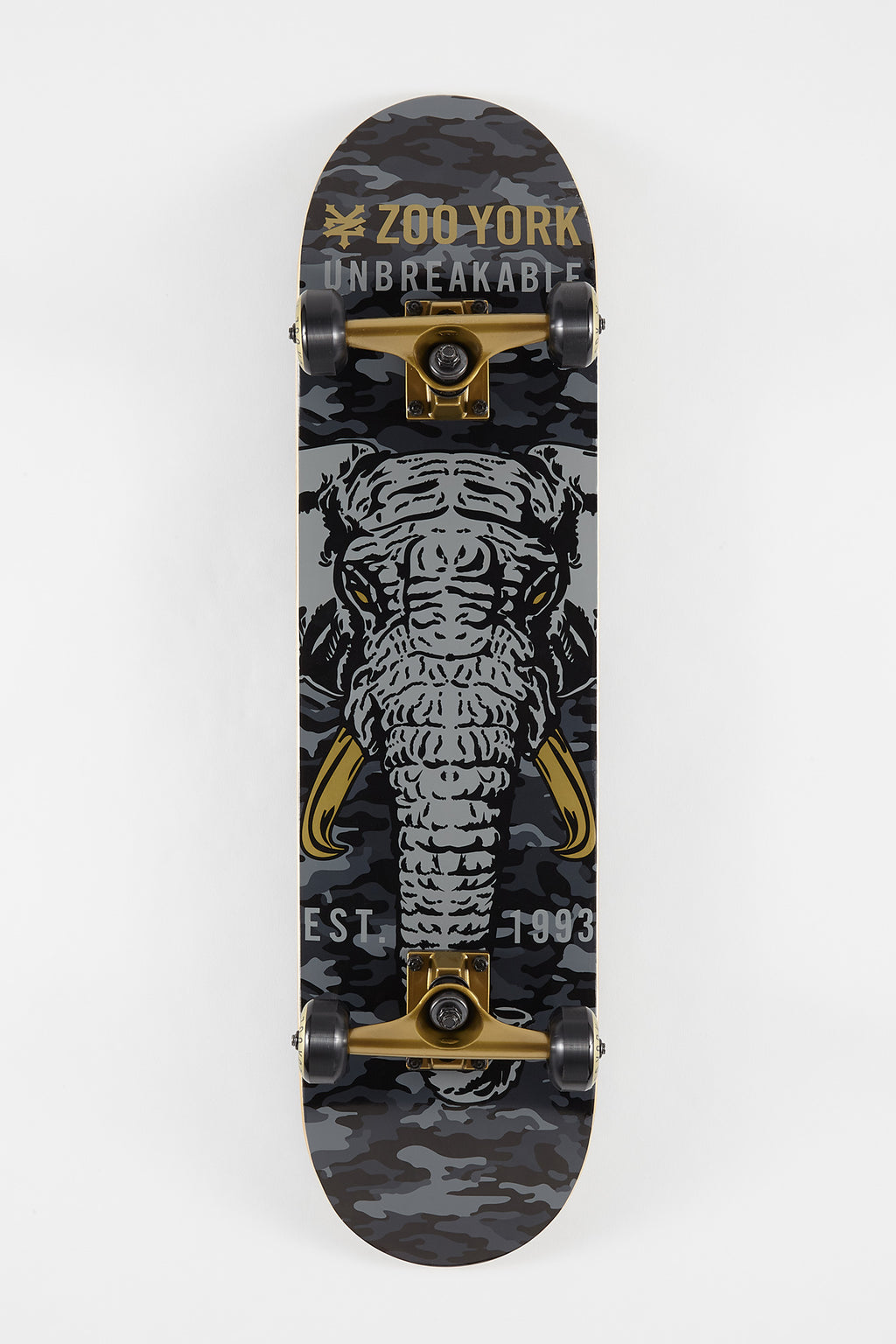 Zoo York Ivory Tusk Skateboard - 7.75""