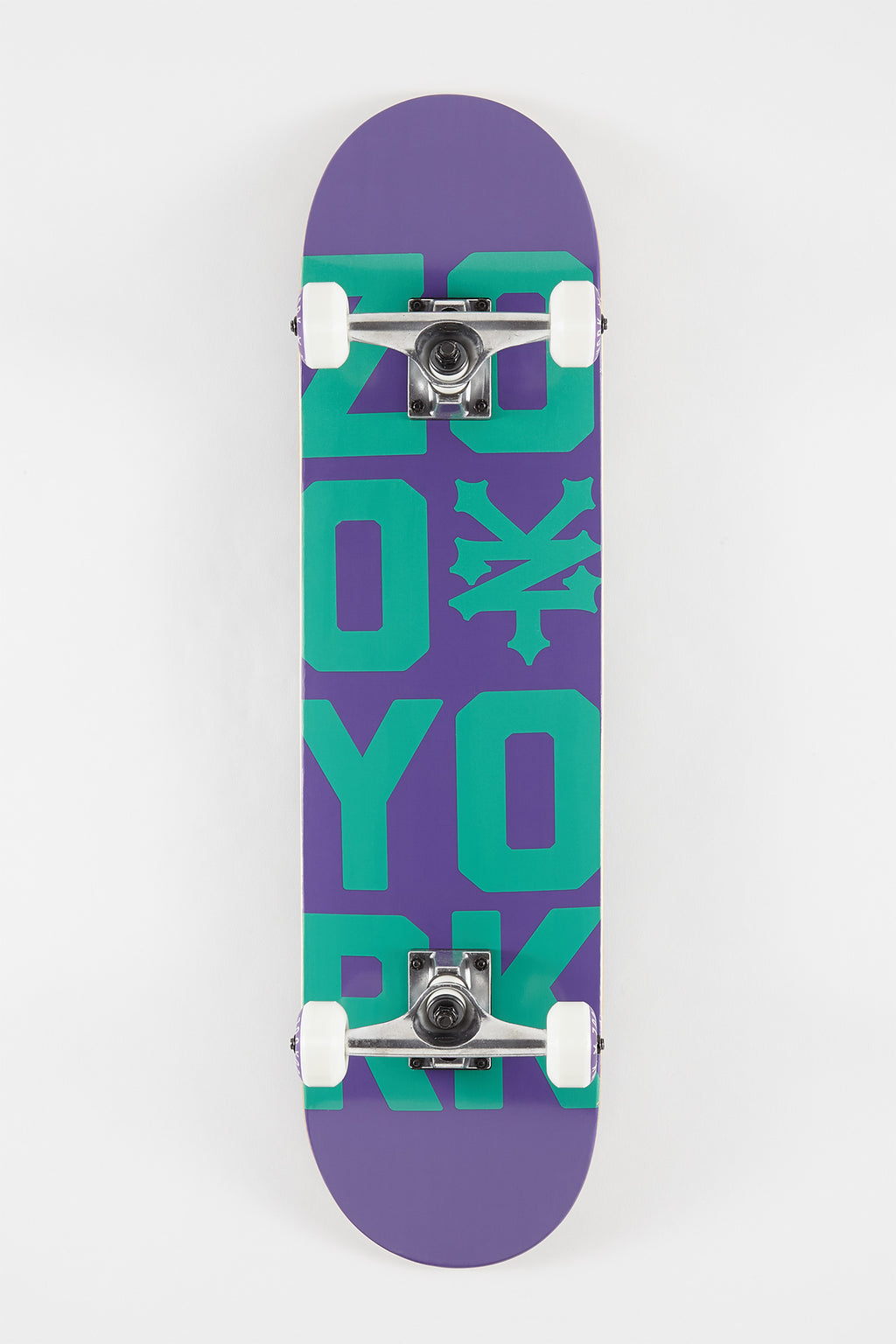 Zoo York Stacked Logo Skateboard - 7.75""