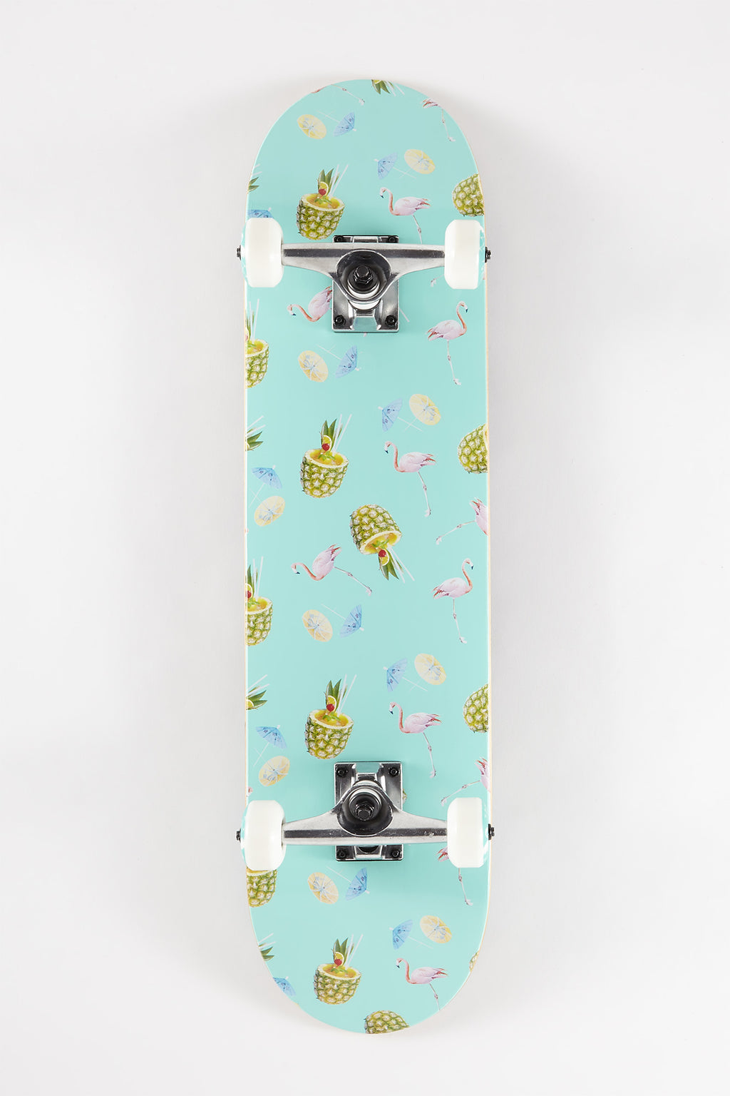 Zoo York Pineapple Party Skateboard - 7.75""