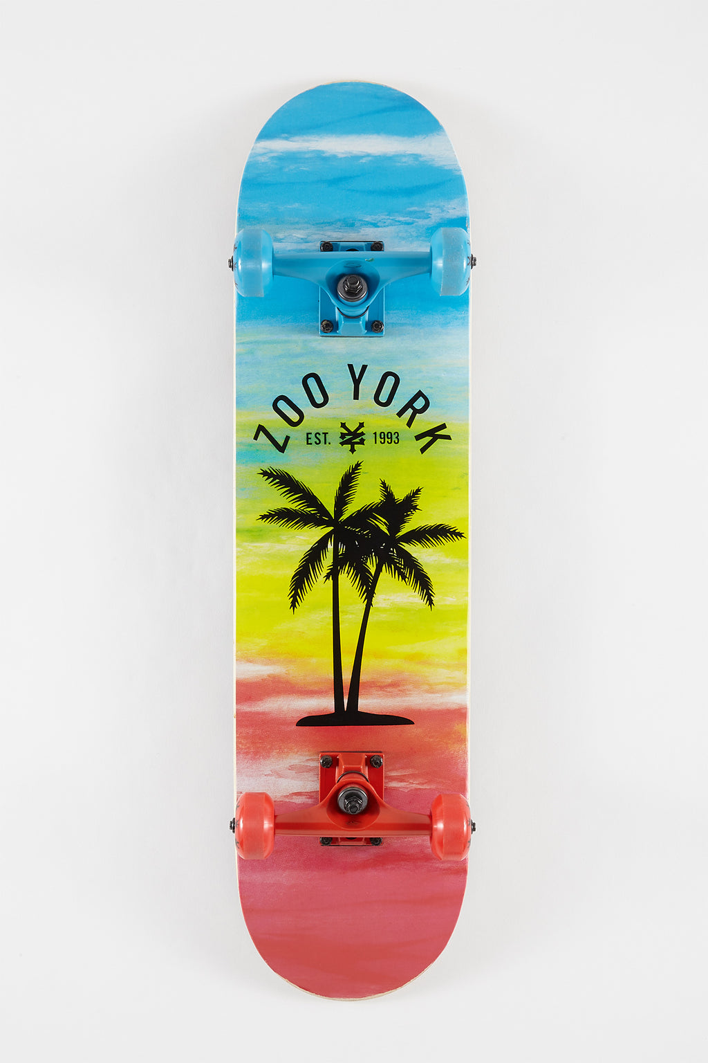 Zoo York Palm Tree Skateboard - 7.75""