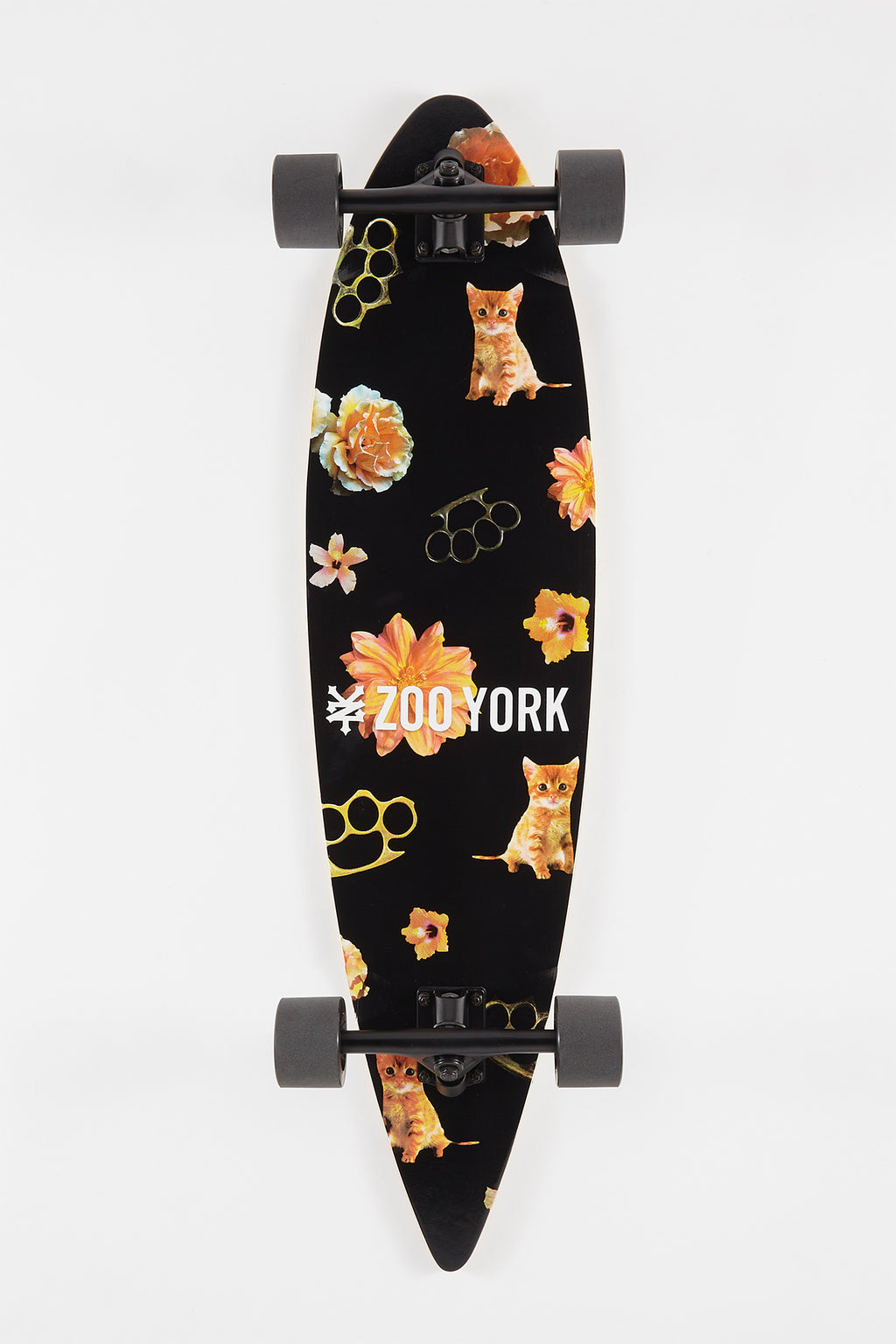 Zoo York Cat Longboard 38""