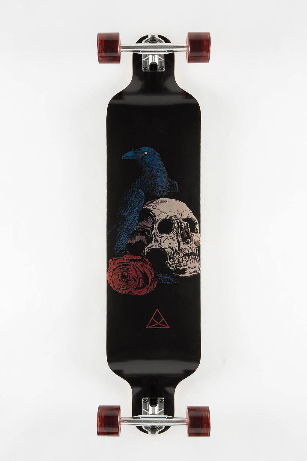 "Raven and Skull 39"" Longboard"