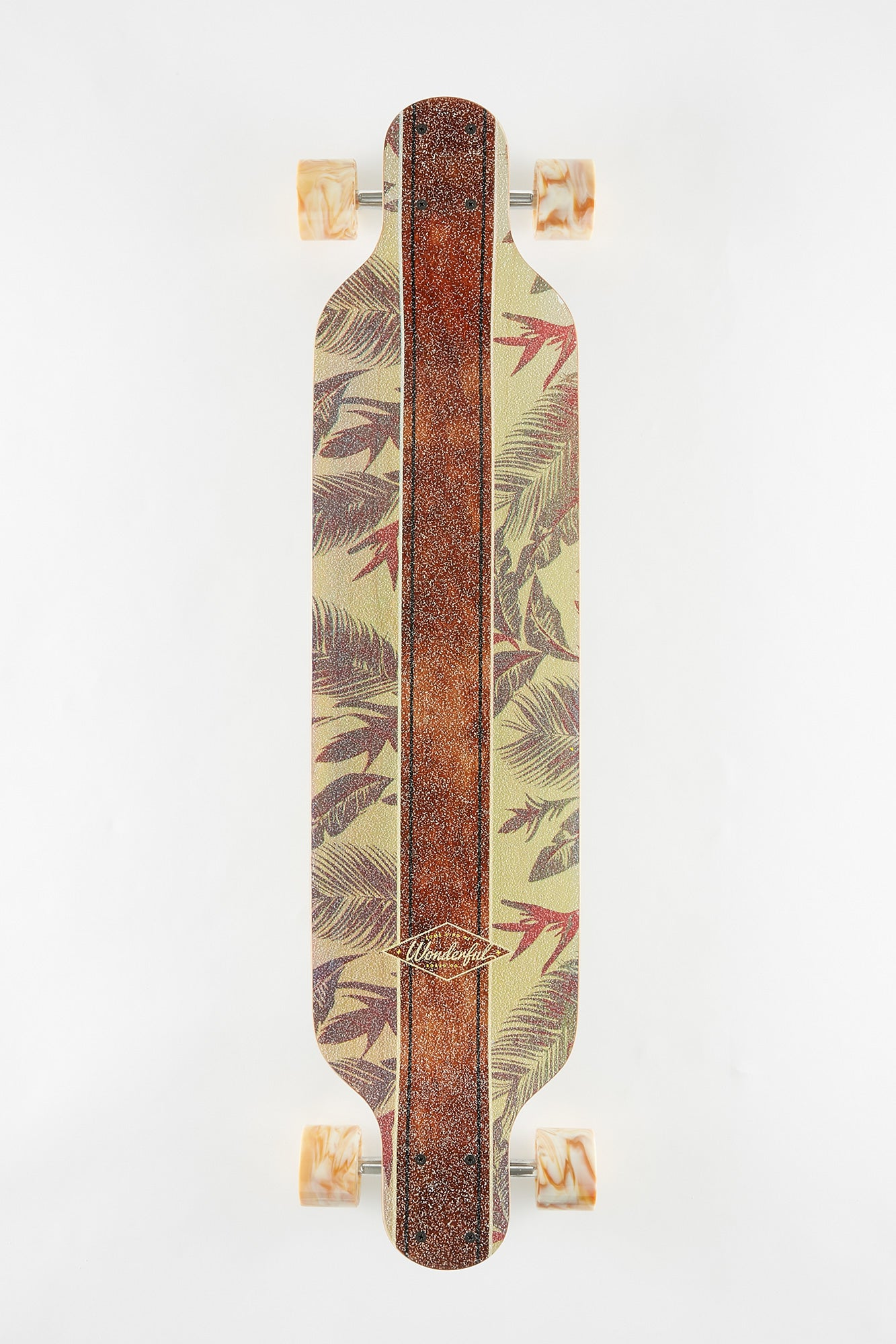 "Wonderful Floral 38"" Longboard"