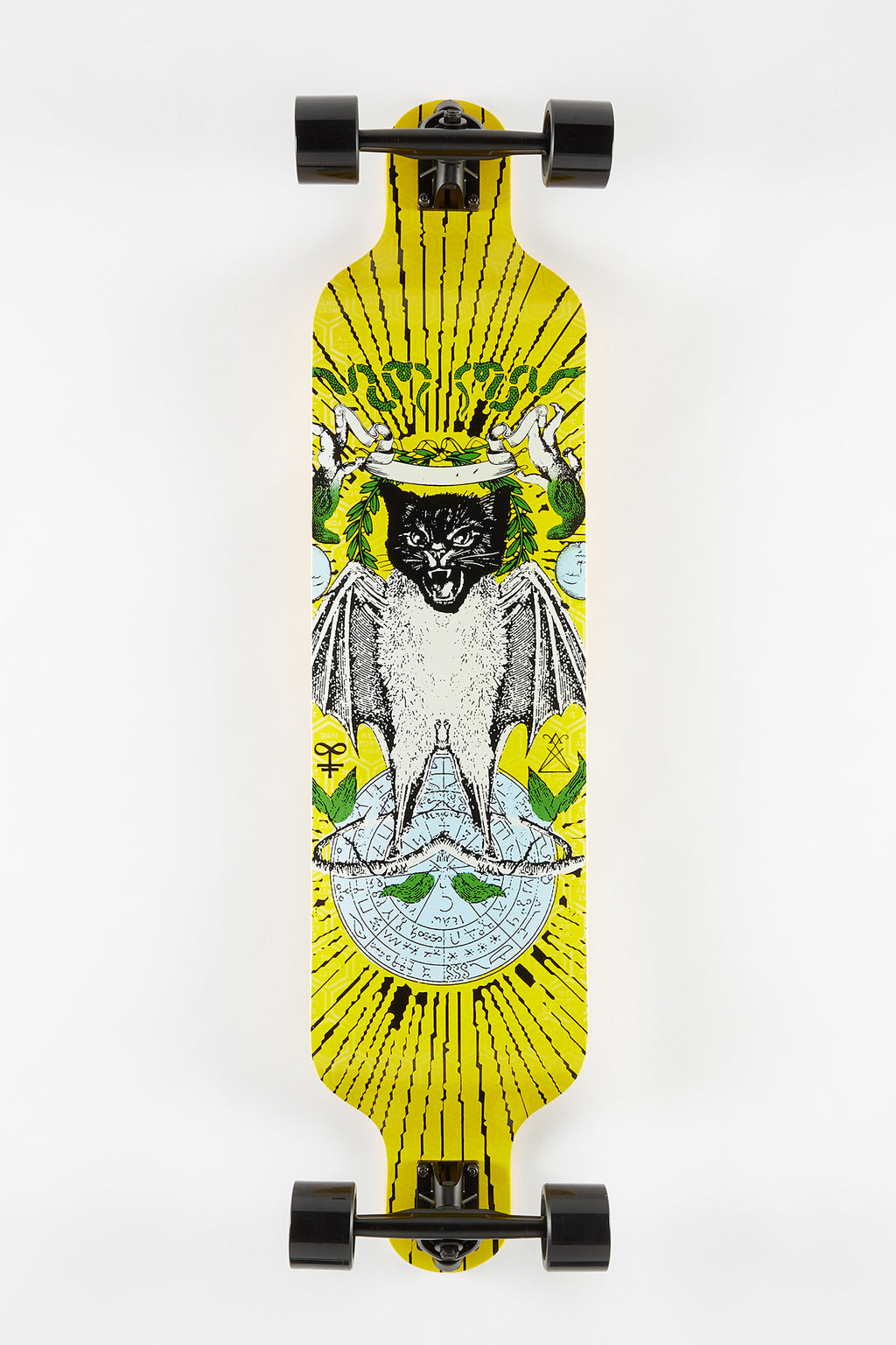 Zoo York Cat Bat Longboard 40""