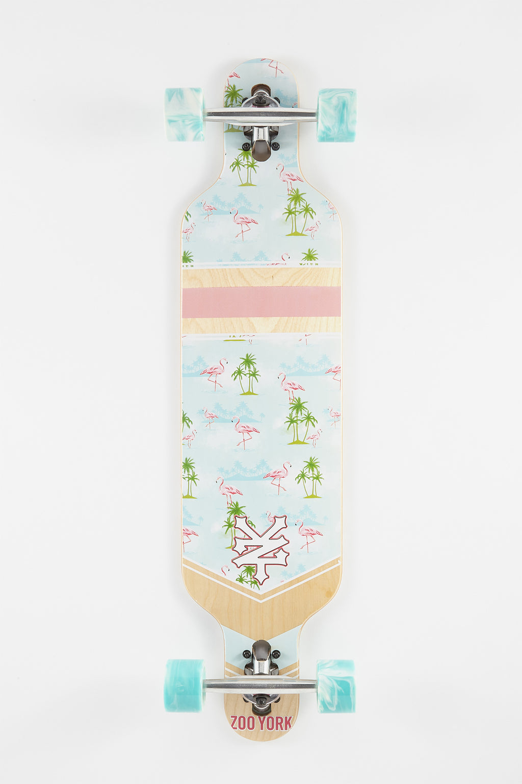 "Zoo York Flamingo DT 38"" Longboard"
