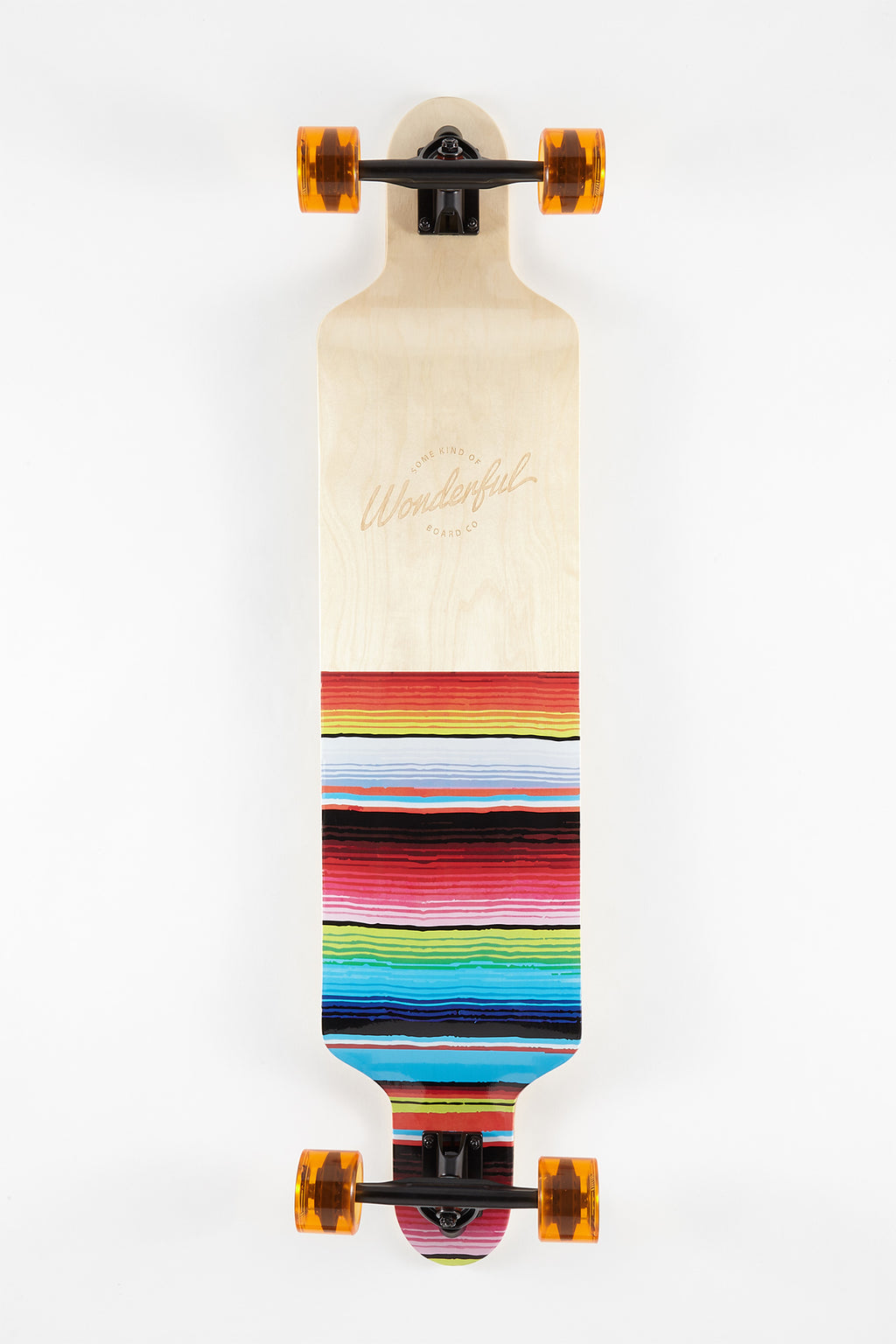 Wonderful Serape Longboard - 42""