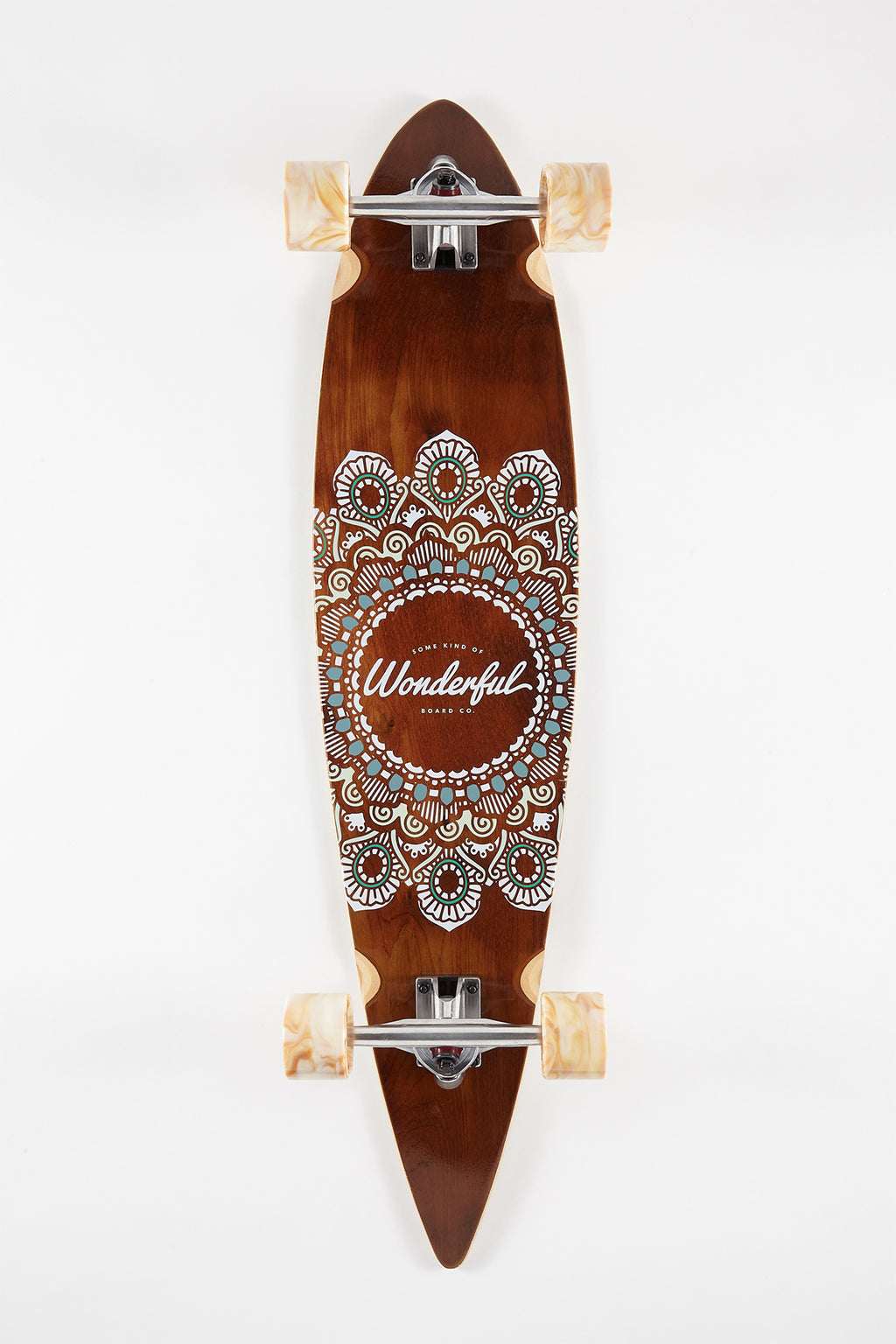 Wonderful Paisley Longboard - 40""