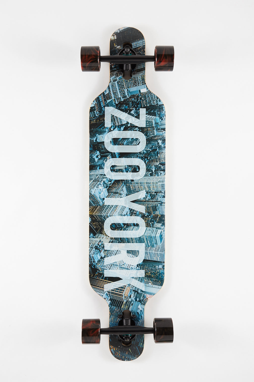 Zoo York City Print Longboard - 39""