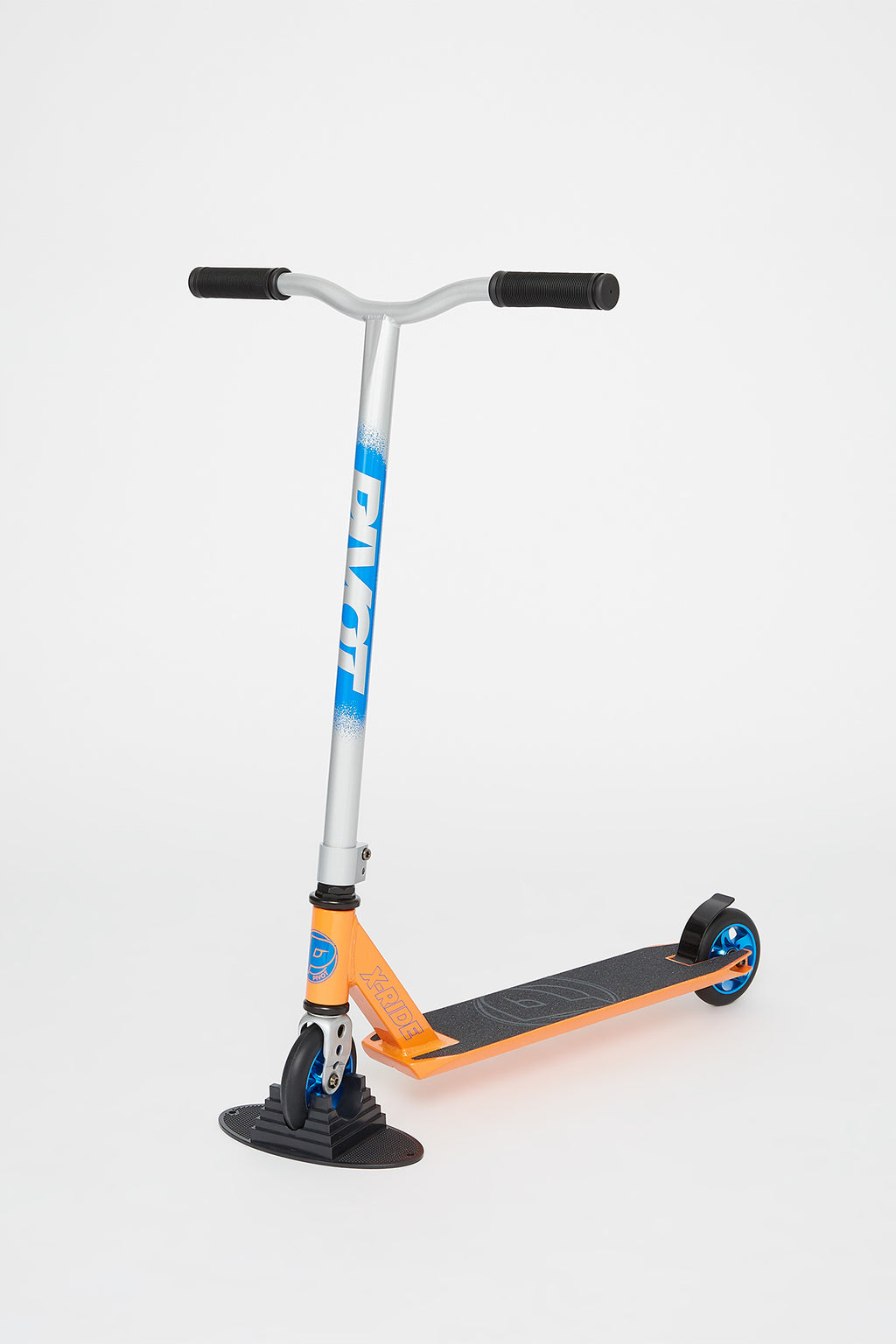 Pivot X-Ride 9 Orange Chrome Scooter