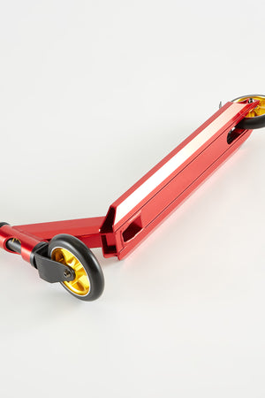 Pivot X-Park 9 Red and Chrome Scooter