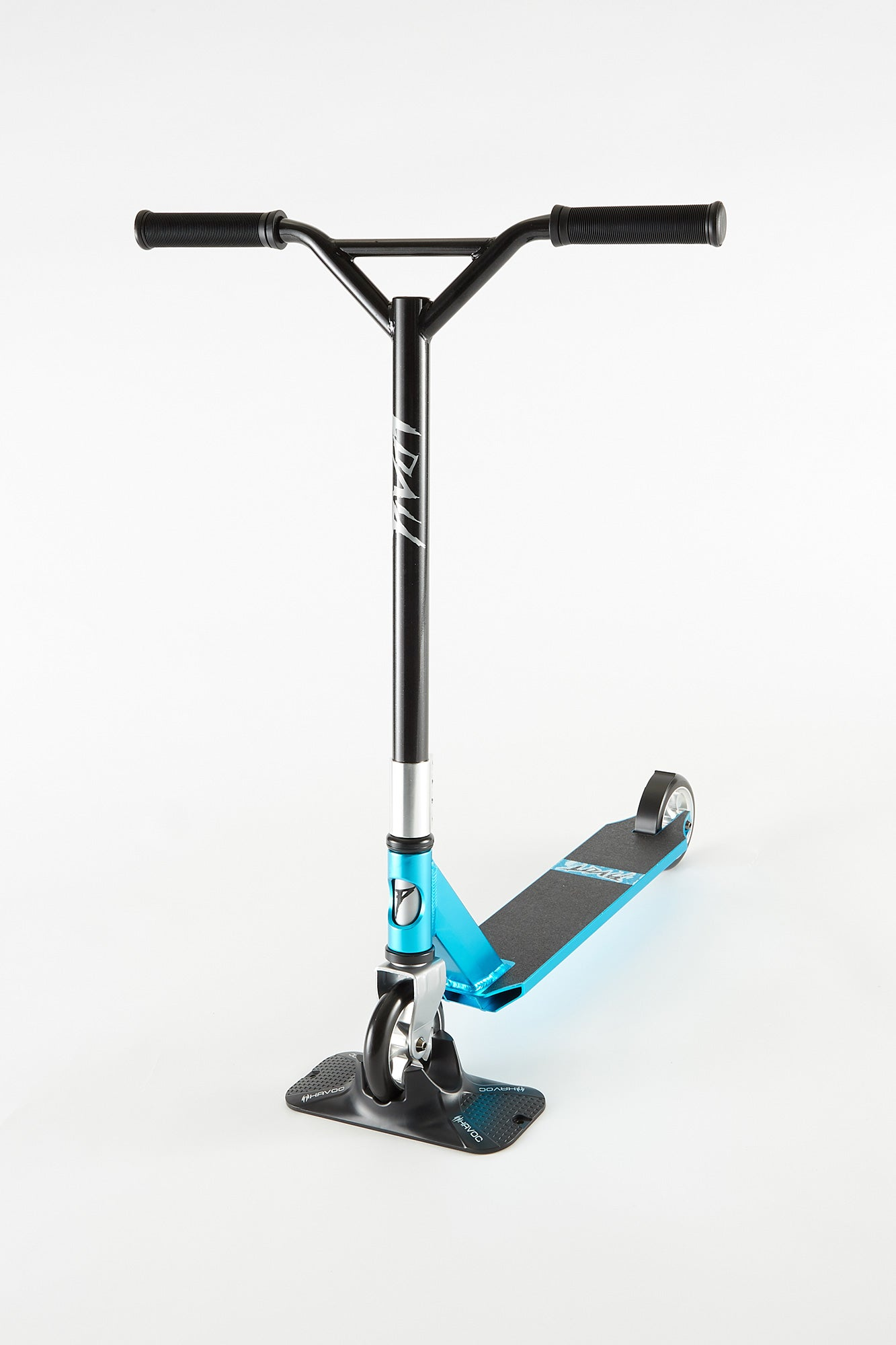Pivot X-Park 9 Blue and Chrome Scooter