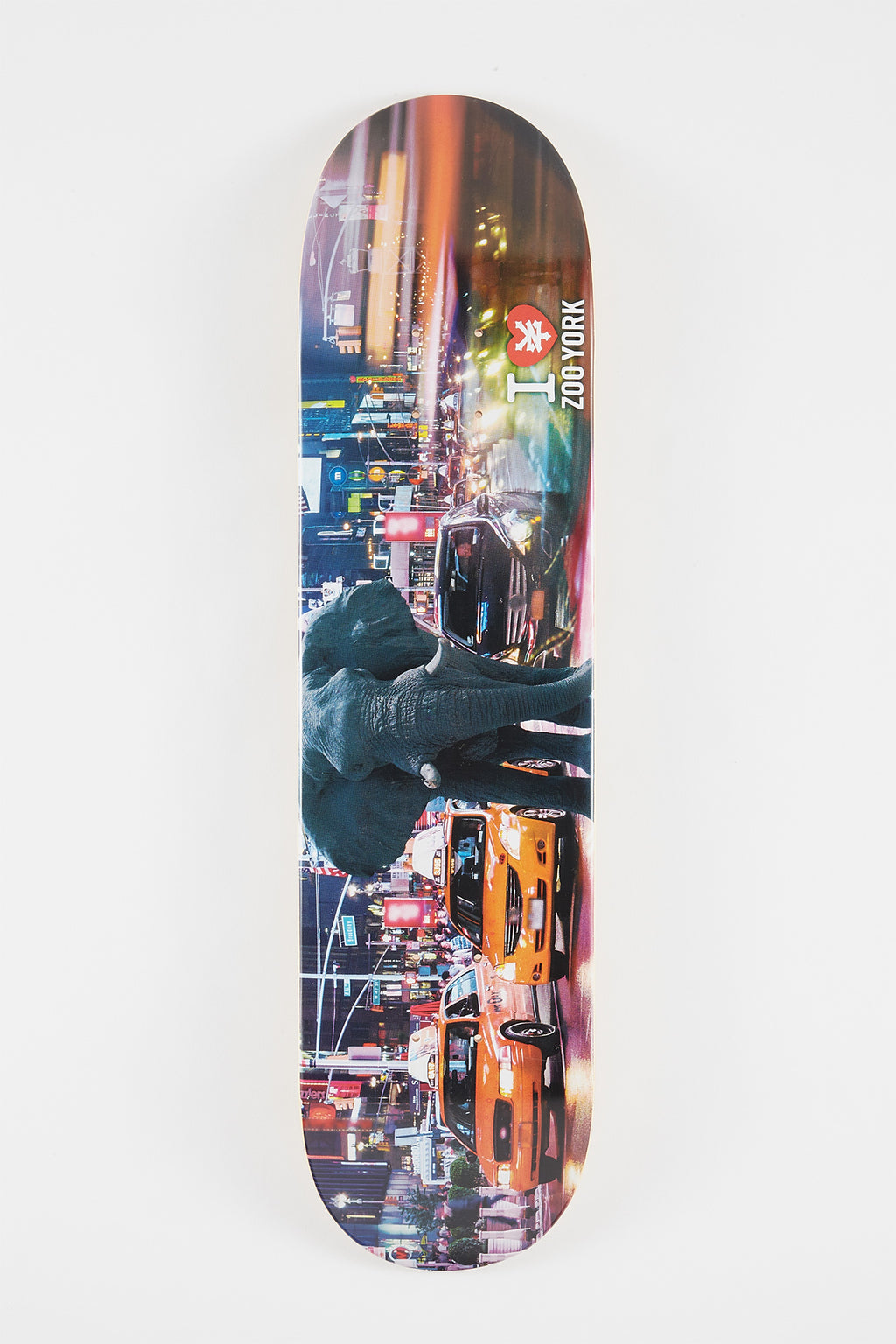 "Zoo York I Love NY Elephant 7.7"" Deck"