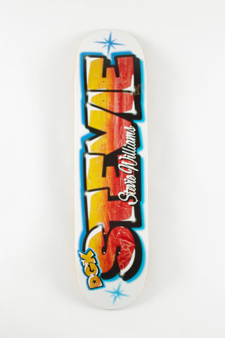 DGK Airbrush Williams 8.0 Skateboard Deck