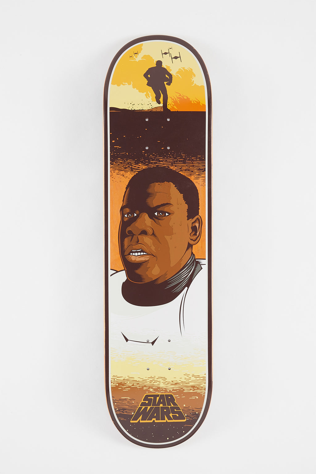 Santa Cruz x Star Wars Finn Deck 8.25""