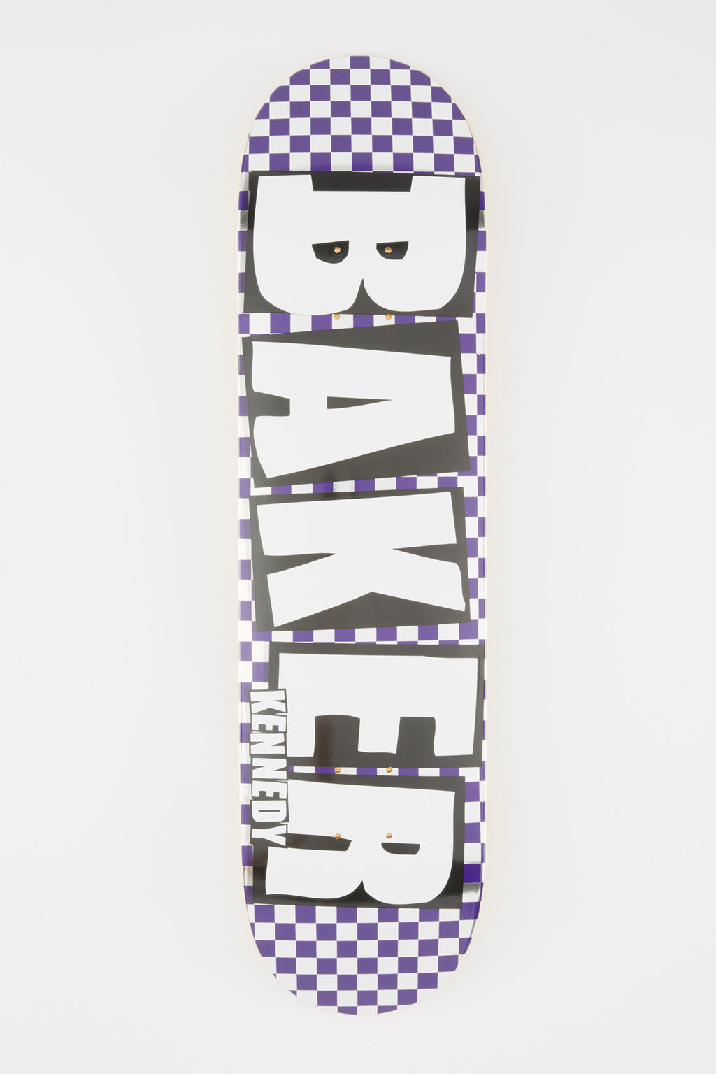 Baker Kennedy Checkered 8.0 Skateboard Deck