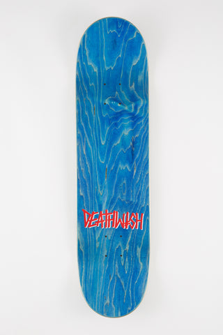Death Wish Death Spray ROYGBIV 8.0 Skateboard Deck