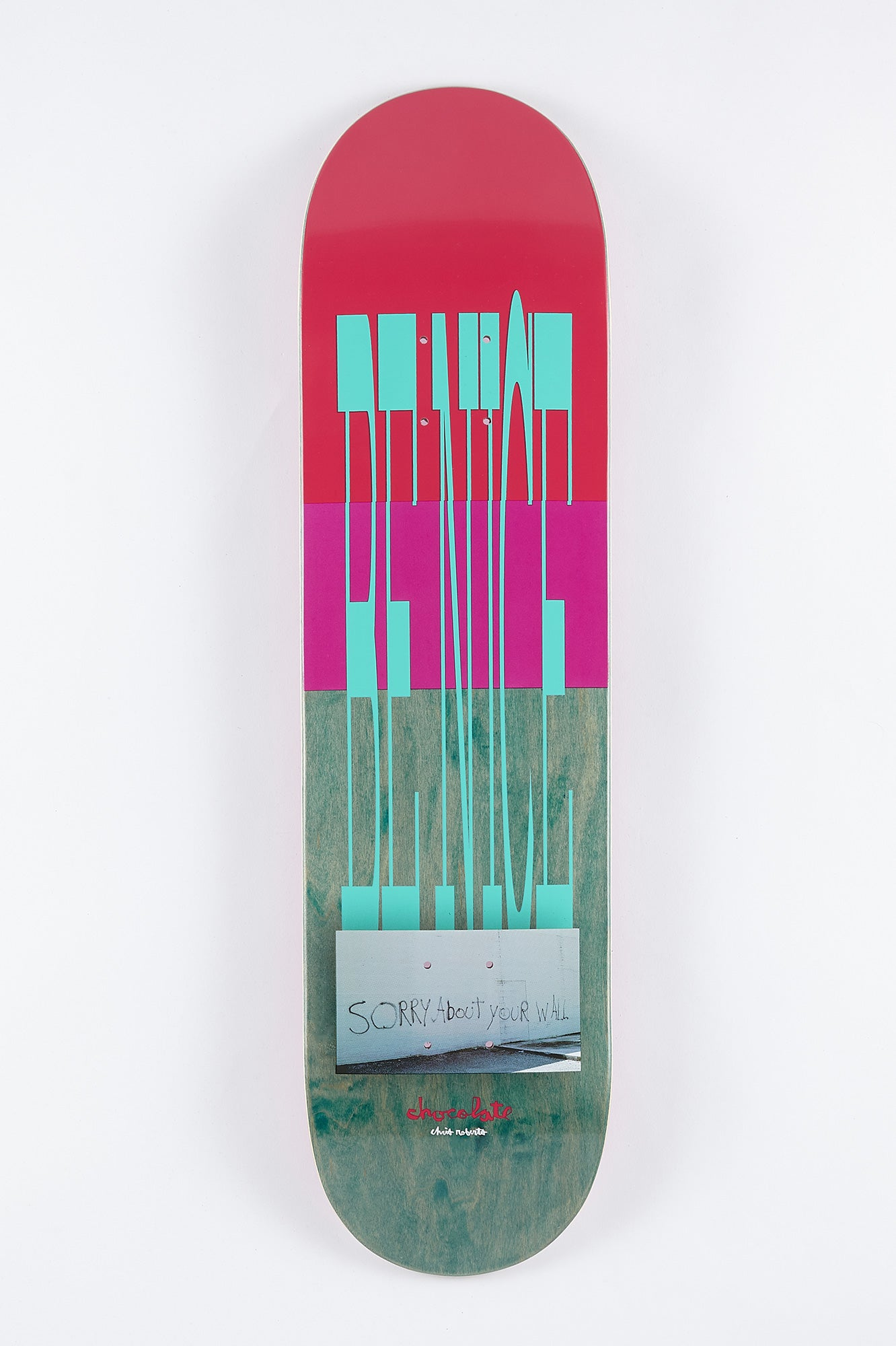 "Chocolate Roberts Don't Trip 8.1"" Skateboard Deck"