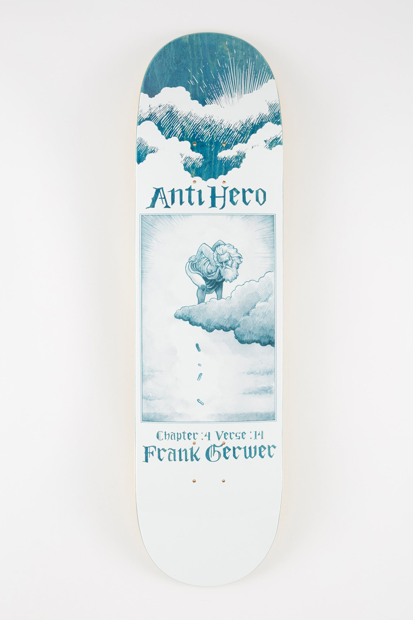 Anti Hero Book Of Ah Grewer 8.25 Skateboard Deck