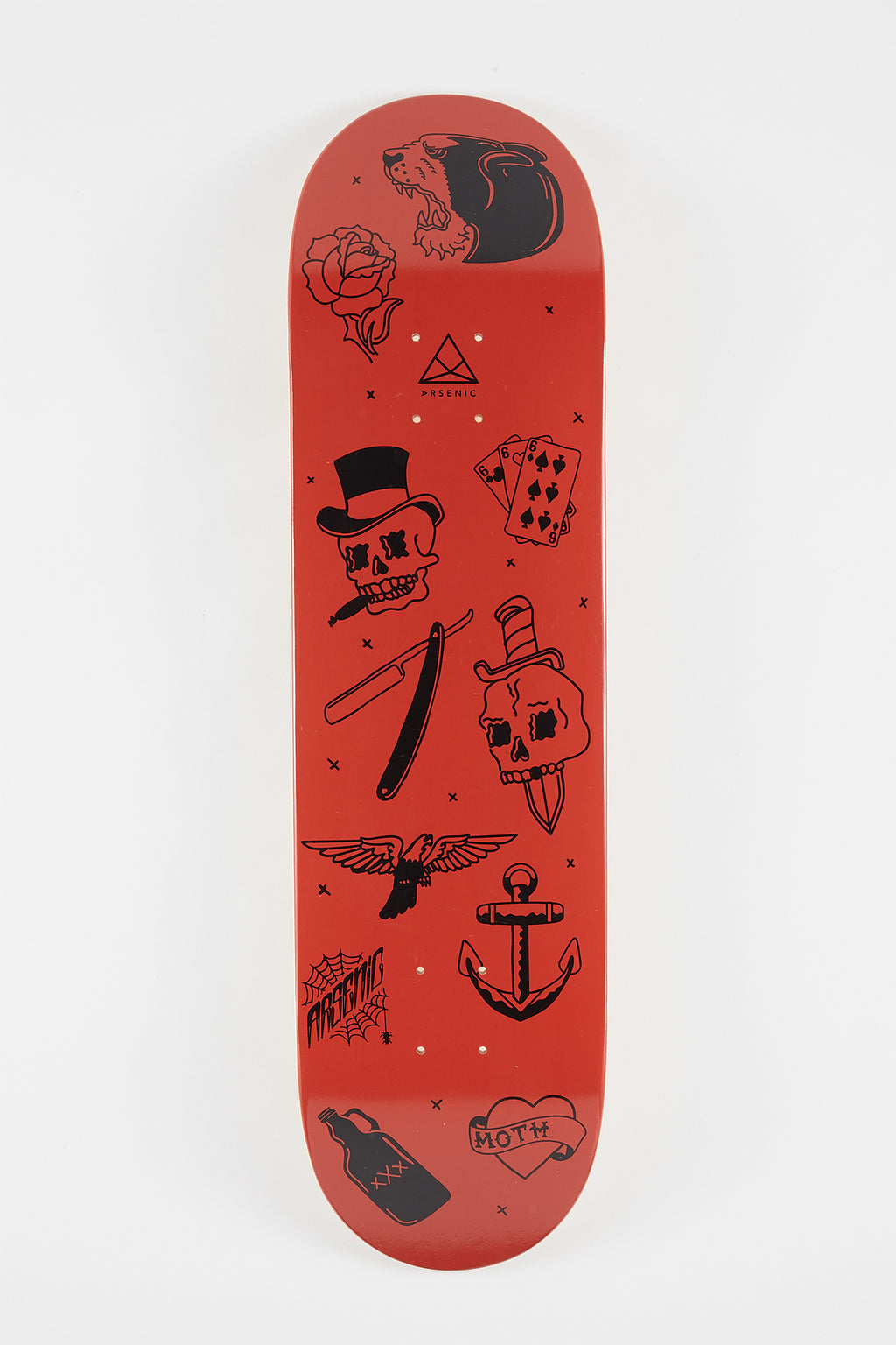 Arsenic Flash Skateboard Deck 8.2""