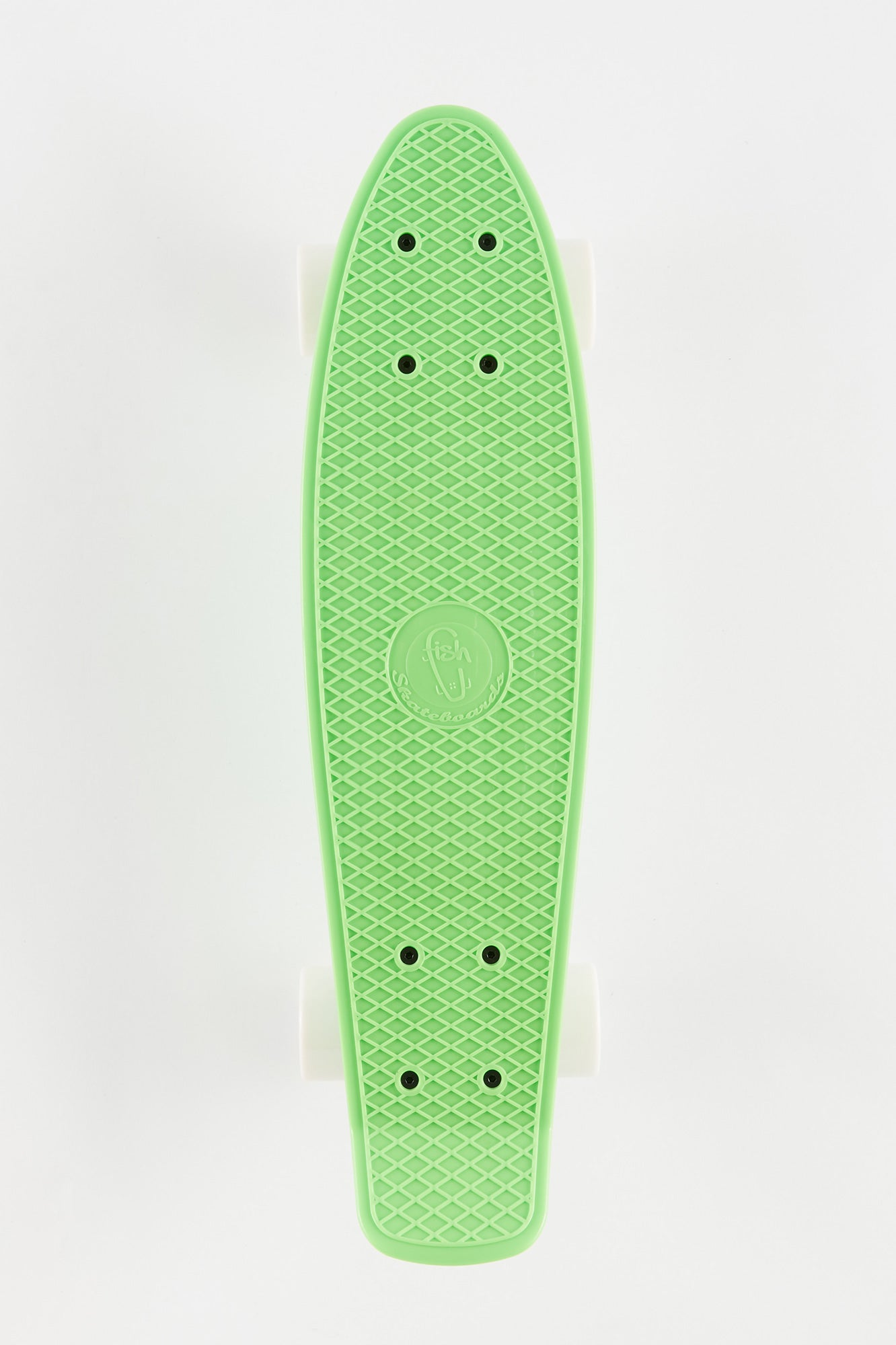 "Fish Green 22"" Cruiser Skateboard"