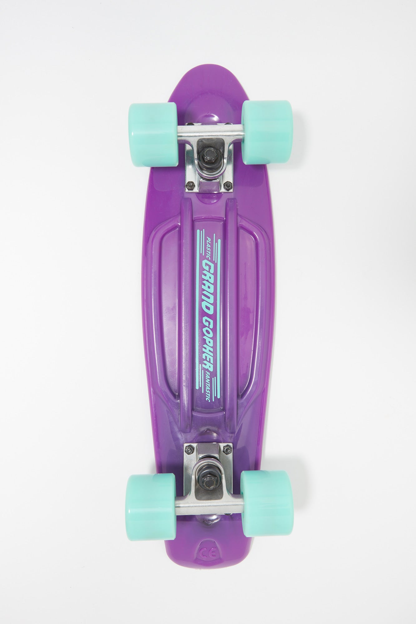 "Grand Gopher Purple 22"" Cruiser Skateboard"