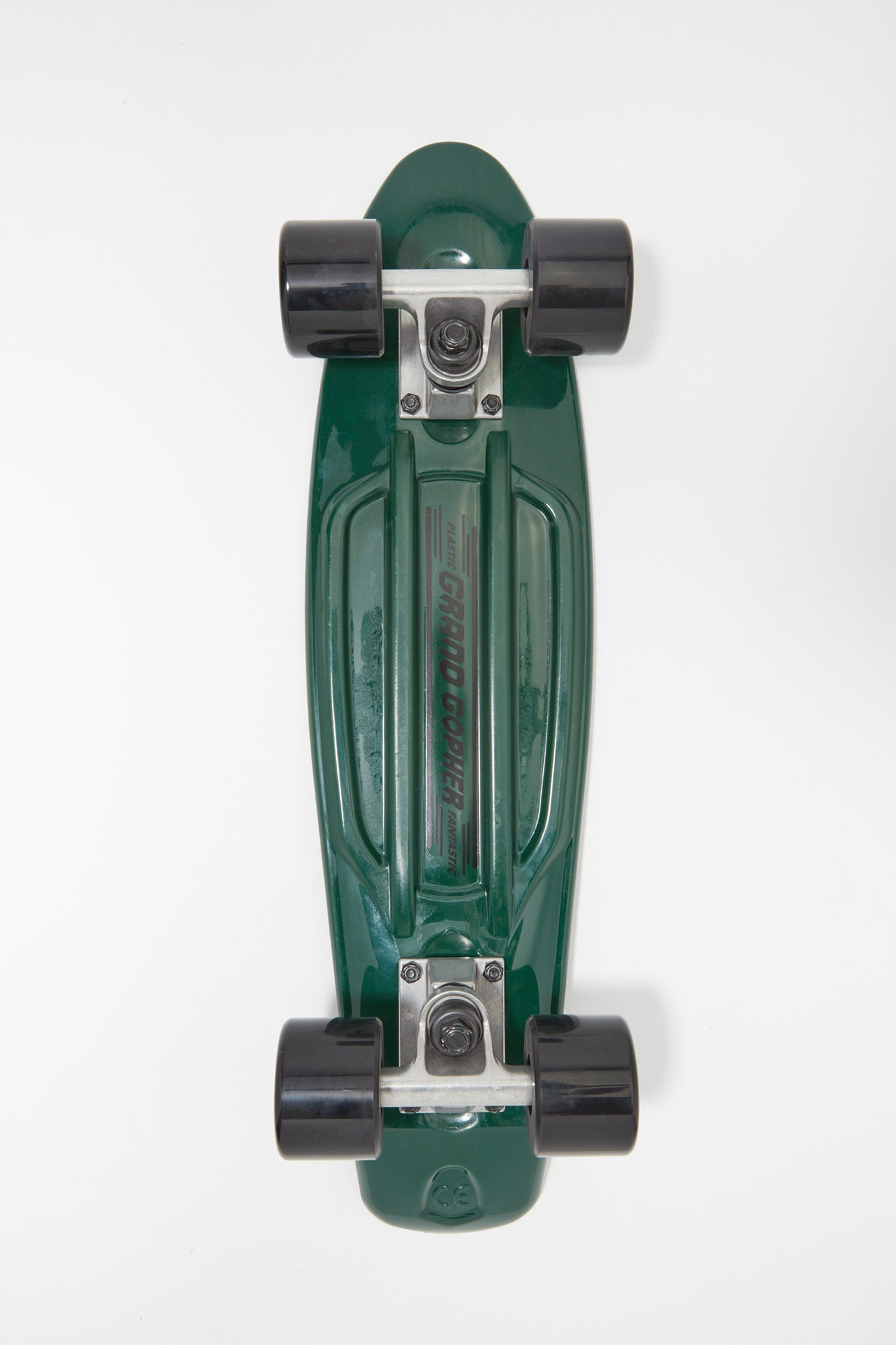 "Grand Gopher Dark Green 22"" Cruiser Skateboard"