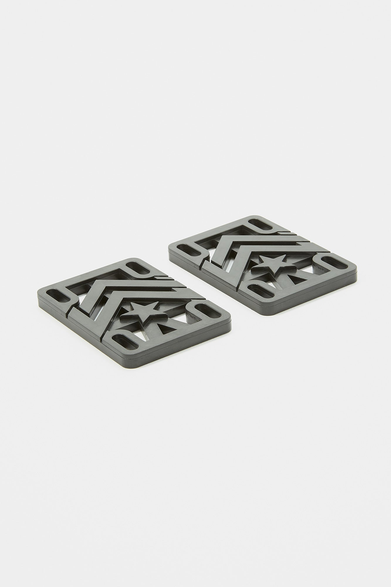 Mini Logo Rigid Risers 0.25""