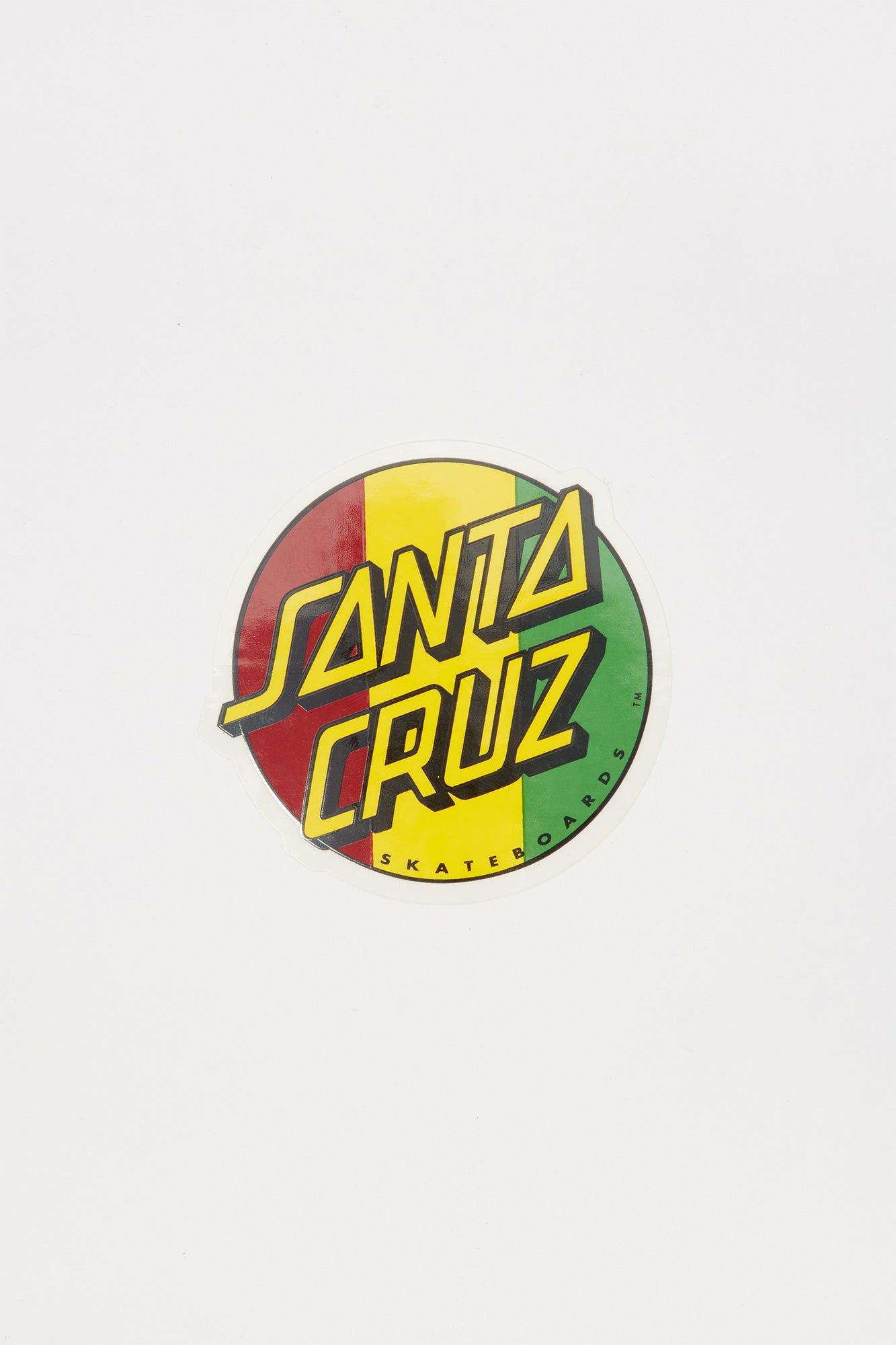 Santa cruz rasta 3 sticker
