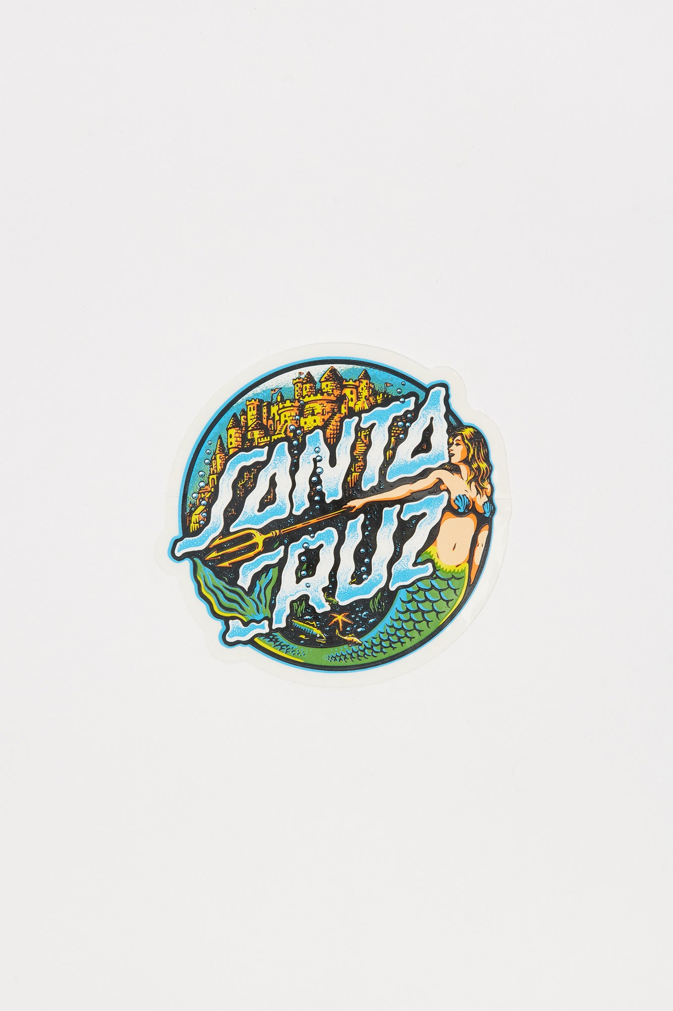 "Santa Cruz Mermaid 3.25"" Sticker"