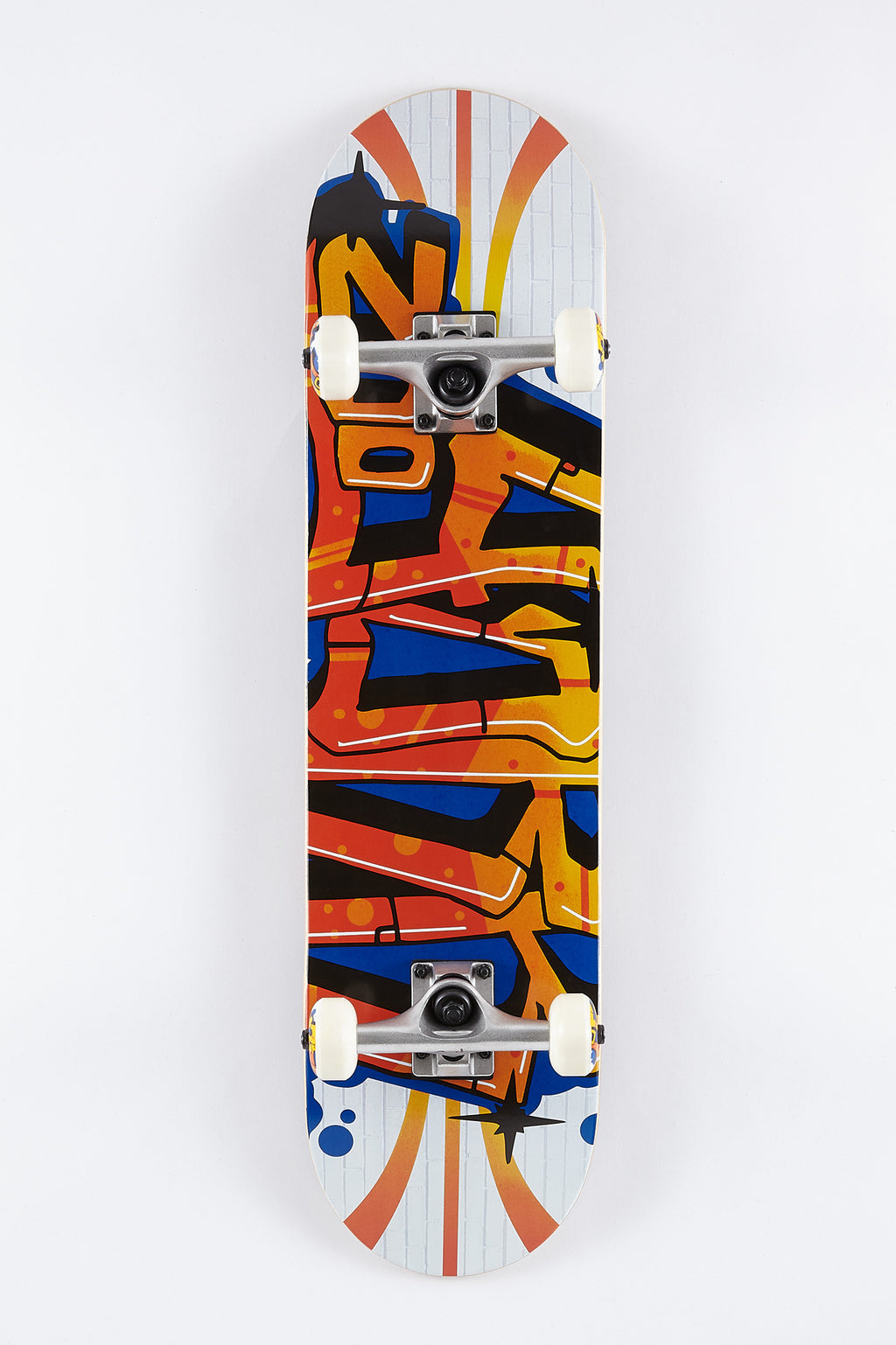 "Zoo York Graffiti Wall 7.75"" Skateboard"