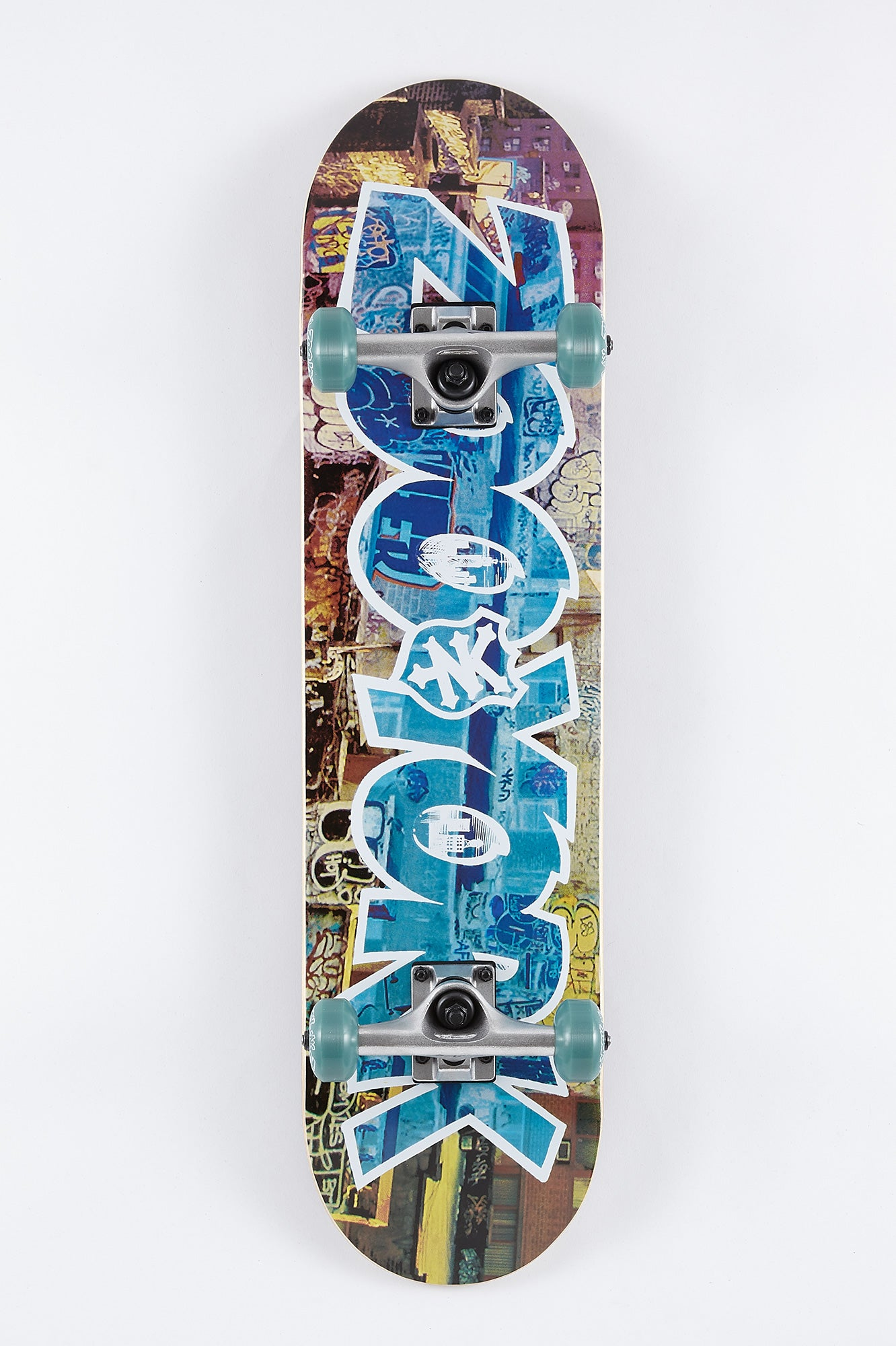"Zoo York Graffiti Wall 8"" Skateboard"