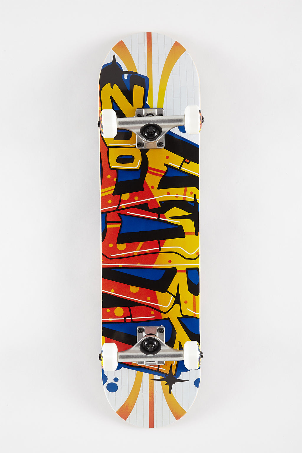 Zoo York Graffiti Wall 7.75 Skateboard