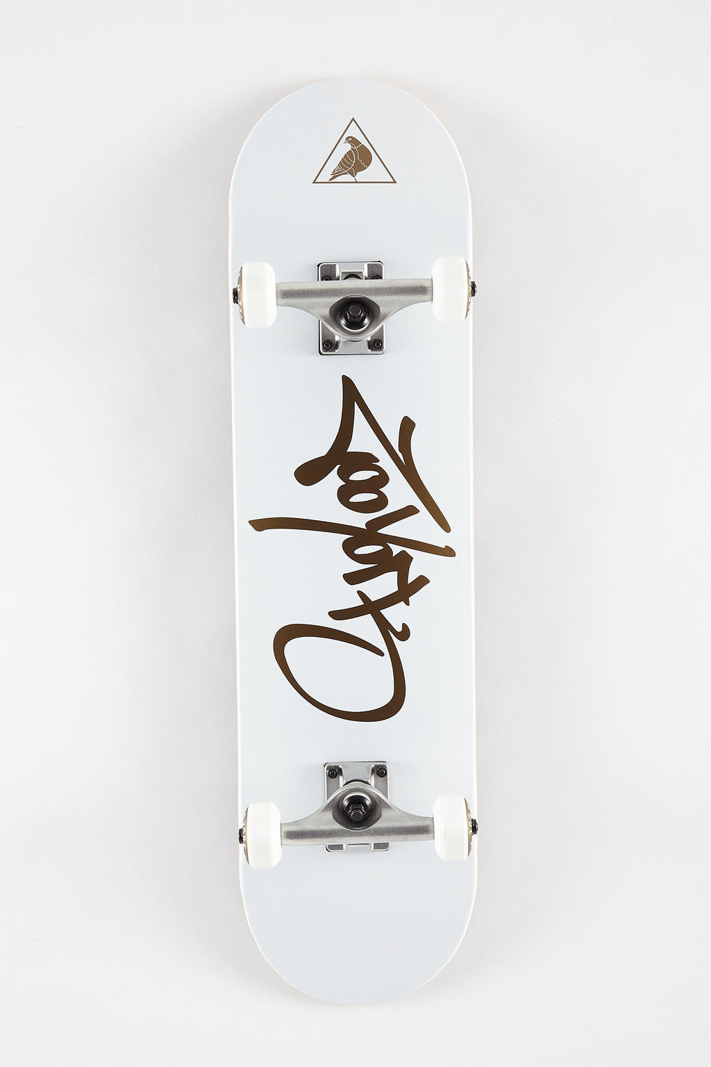 Zoo York Gold Script Skateboard 8""