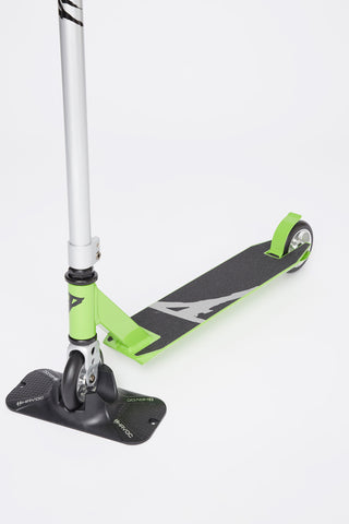 Pivot Green Silver Scooter