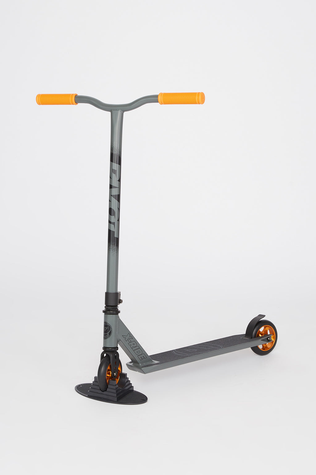 Pivot X-Ride Grey & Orange Scooter
