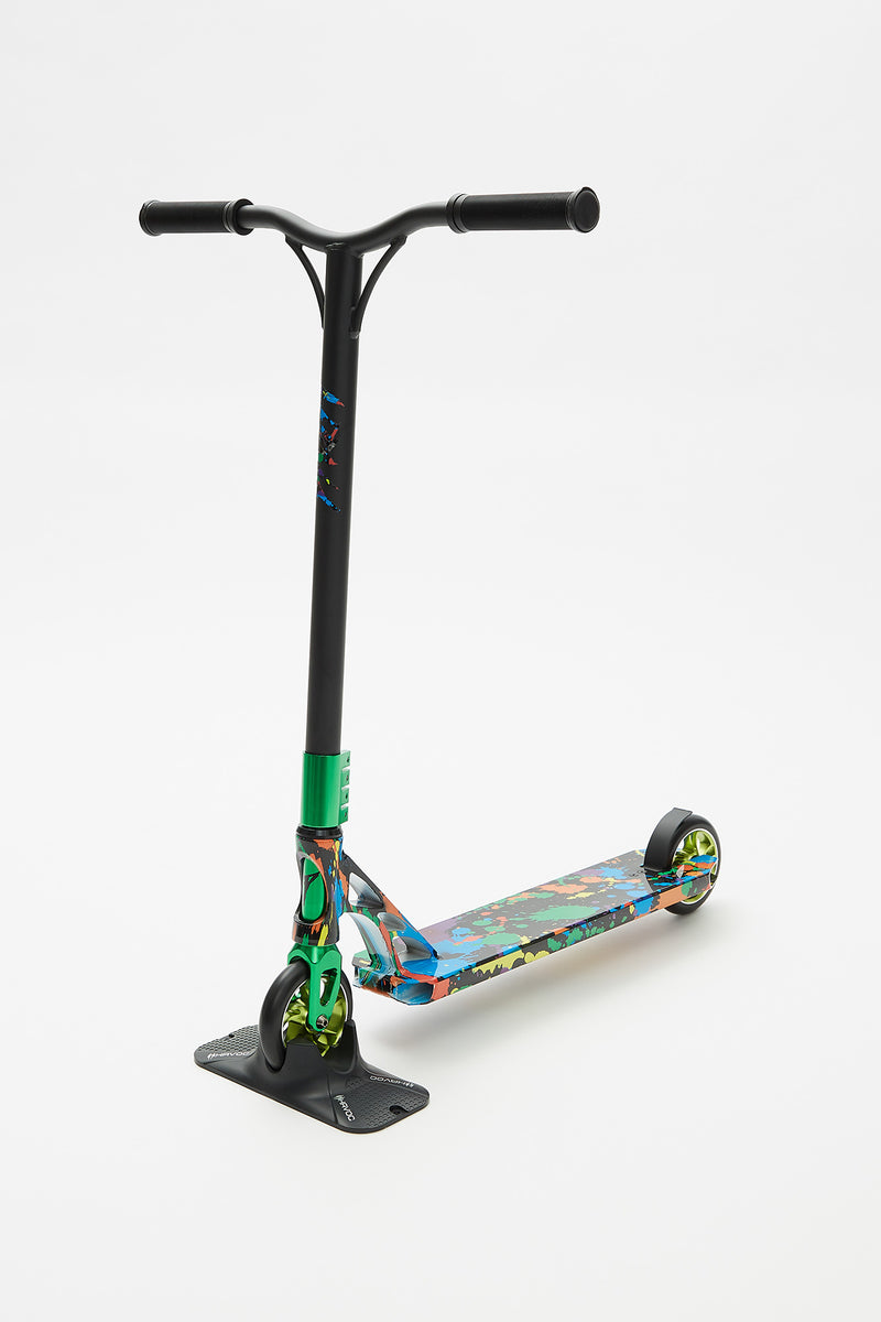 Pivot X-Up Paint Splatter Wrap Scooter