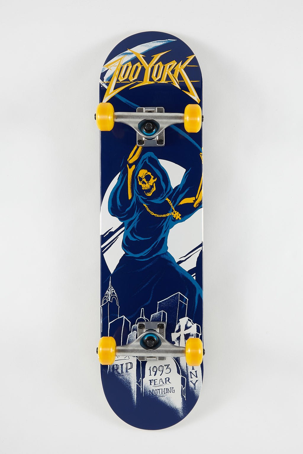 Zoo York Reaper Skateboard 8""