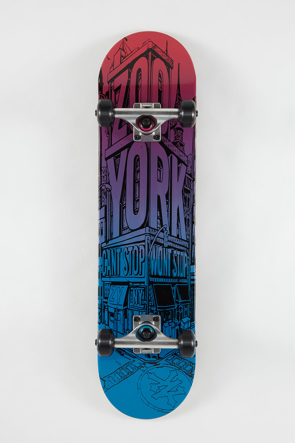 Zoo York New York Street Corner Skateboard 7.75""