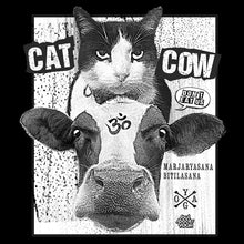 Cat Cow Vegan Power // Men's Short Sleeve T-shirt