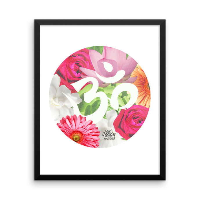 Flower Power // Framed Poster
