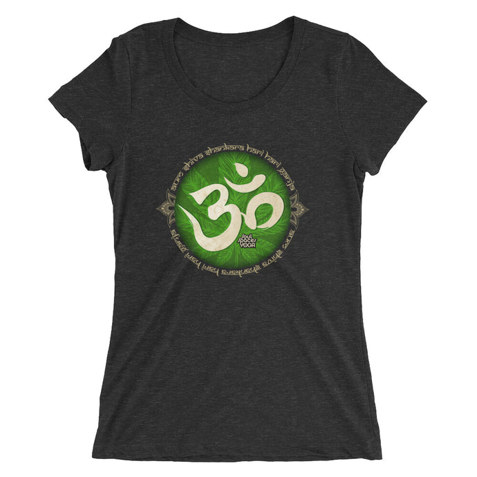 Canna-Yoga Aum // Women's Short Sleeve T-shirt