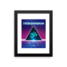 Cosmic Triangle // Framed Poster