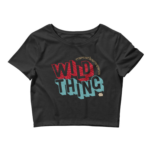 Wild Thing (Camatkarasana) // Women's Crop Tee