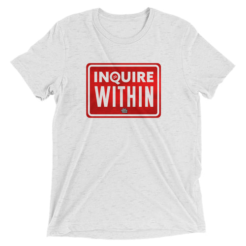 Inquire Within // Men's Short Sleeve T-shirt