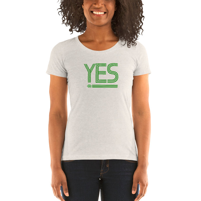 YES // Ladies' short sleeve t-shirt