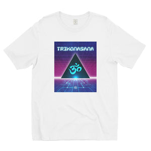 Cosmic Triangle // Men's Short Sleeve T-shirt