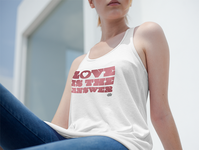 Love Is The Answer // Unisex Tank Top