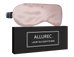 ALLUREC™ Luxury 100% Mulberry Silk Sleep Eye Mask. Top Grade 6A 22 Momme Long Silk.