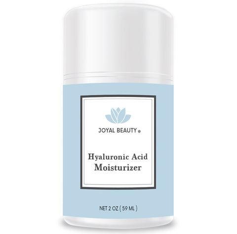Organic Hyaluronic Acid Moisturizer for Skin Face and Eyes