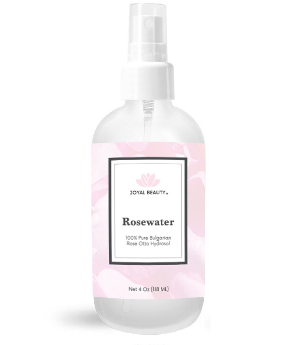 Luxurious 100% Pure Rose Water-Organic Bulgarian Rose Otto Hydrosol. Steam Distilled from Rose Damascena. Best Hydrating Toner Spray Mist for Face and Hair. Premium Therapeutic Grade.